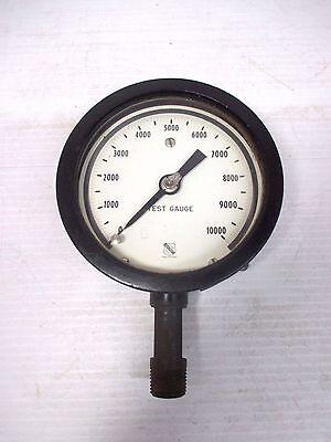 Ashcroft Test Gauge 0-10000 Alcoa G4 Amc 4296 4 Diameter Face Steampunk