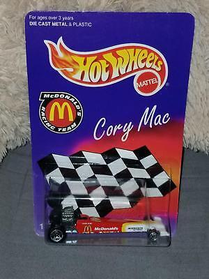 Hot Wheels Racing 1999 Cory Mac Dragster McDonalds