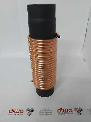 Espiral Tubo de Cobre 15x1mm De 10mA El Estufa 150mm=50cm Tubo
