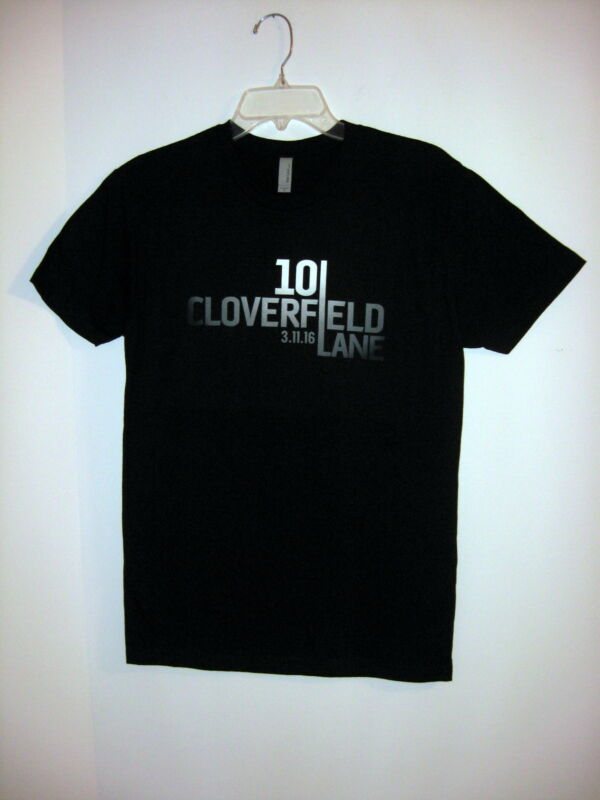 "*NWOT RARE* ""10 CLOVERFIELD LANE"" Movie Promo 100% Cotton T-Shirt - Size S"