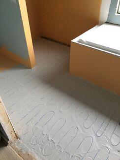Riverland tiling and underfloor heating