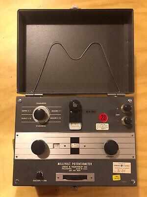 Vintage Steampunk Leeds Northrup 8691 Millivolt Potentiometer