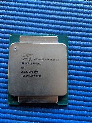 Intel Xeon E5-2650v3 v3 SR1YA 10-Core 10C 2.3GHz CPU Processor LGA-2011v3