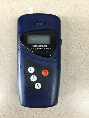 Bacharach 2820 Co2 Analyzer Complete Working Kit