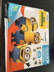 Giant minions colouring and activity book Yokine Stirling Area Preview