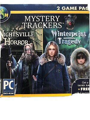 Big Fish Games Mystery Tracker Pack PC DVD-Rom Hidden Object 2 Game Pack