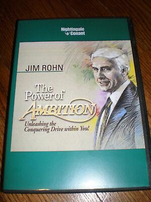 JIM ROHN The Power Of Ambition 6CD Set Full UNABRIDGED Version