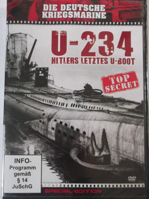 U 234 - Hitlers letztes U Boot - Auf dem Weg nach Japan - V2 Bauplan, ME 262