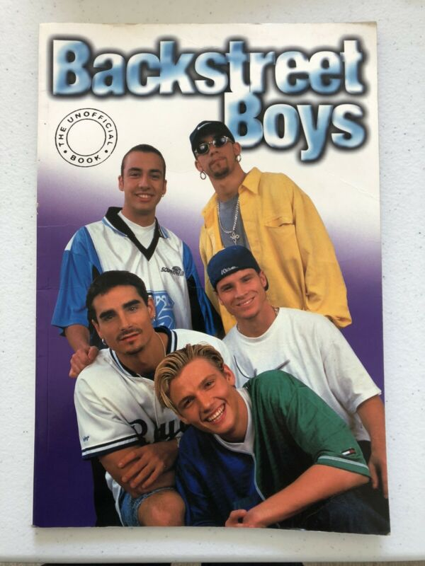 BACKSTREET BOYS 1998 Billboard Unofficial Book Nick Carter Boy Band photos galor