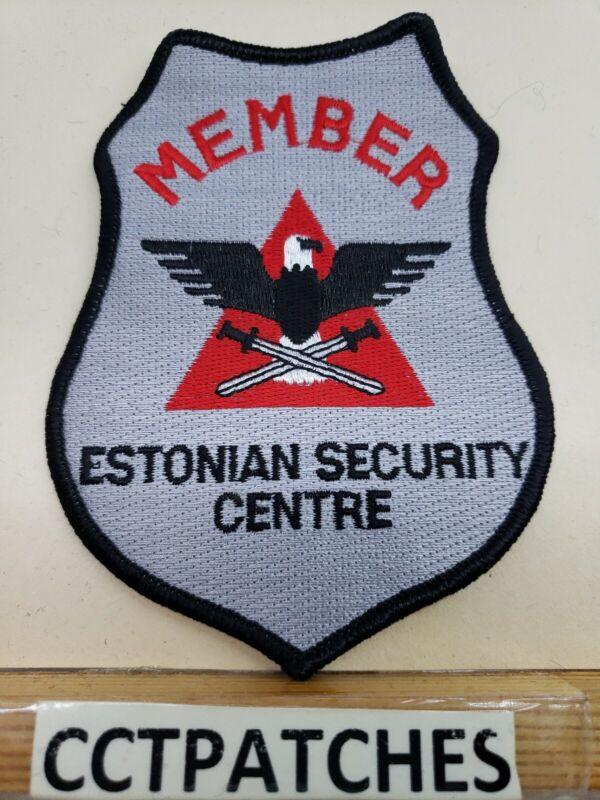 ESTONIAN SECURITY MEMBER (POLICE) SHOULDER PATCH