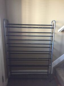 Modern 8 level shoe rack