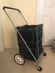 Laundry cart/grocery basket