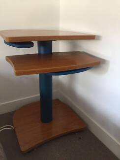 Computer Table for Kids with Wheels.