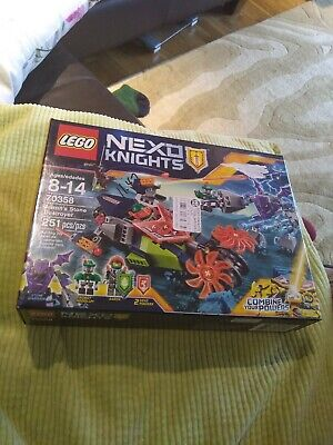 Lego Nexo Knights 70358 Ages 8-14 New Sealed 251 Pcs combine your powers
