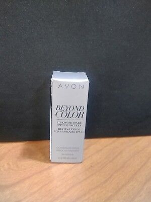 Avon Beyond Color Lip Conditioner Spf 15 Sunscreen New
