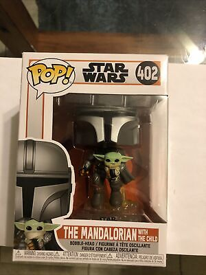 FUNKO POP! Star Wars 402 The Mandalorian (Jetpack) w/ The Child SEASON TWO 2020