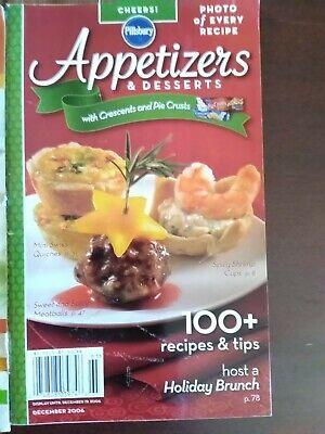 Book Cookbook Pillsbury Appetizers & Desserts 2006 Recipes