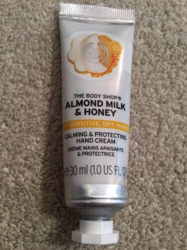 THE BODY SHOP Almond Milk & Honey Hand Cream. 30 mL. NEW.