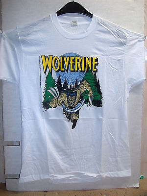 Vintage T-Shirt: Wolverine - Snow Beast (M) (USA, 1989)