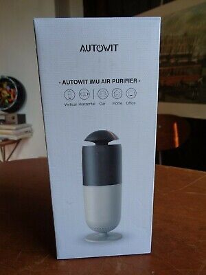 Autowit Car/Home Air Purifier with True HEPA Filter Car Ionizer Air Cleaner
