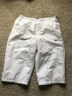 Nike Sportswear Men Pants Size Medium White LeBron Style