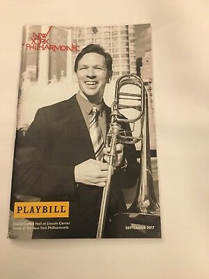 New York Philharmonic Sept 2017 Empire Strikes Back Playbill Star Wars