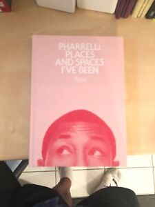 Pharrell places and spaces book. Very rare
