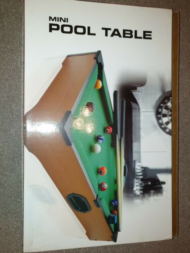 Childrens Mini Pool Table