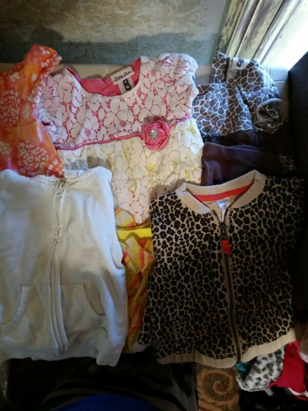 Lot Of 8 ,assorted.. 2t Girl,2 Jackets