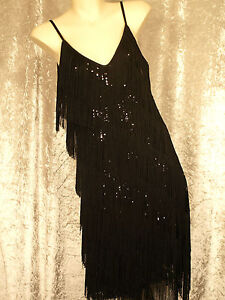 1920's Great Gatsby Style Flapper Party Dress Fr