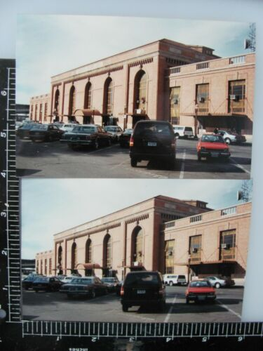 SACRAMENTO CALIFORNIA SOUTHERN PACIFIC RAILROAD STATION PHOTOS & NEGATIVES 4 LOT