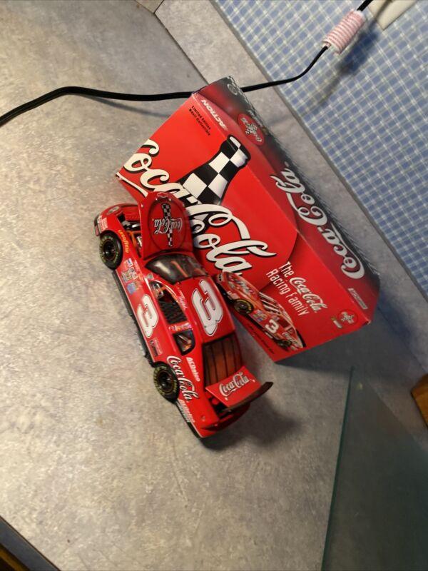 Number 3 Coca Cola Die cast Car With Original Box