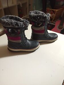 Botte hiver Fille Taille 1 Bogs-comme meuf
