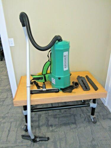 Bissell Big Green Commercial Backpack Vacuum 6 Quart BG1006