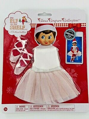Elf on the Shelf Claus Couture Twinkle Toes TUTU Ballerina Christmas Dress NEW