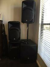 Mackie Powered PA Speakers Glandore Marion Area Preview