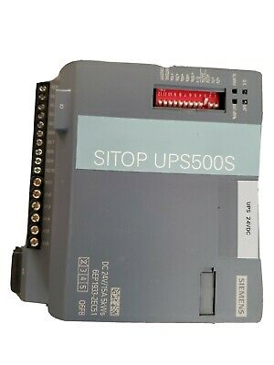 Siemens 6ep1933-2ec51 Sitop Ups500s Power Supply 24vdc15a Tested
