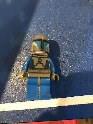 Lego Star Wars Clone Wars Mandalorian Death Watch Warrior Minifigure 9525 sw0296