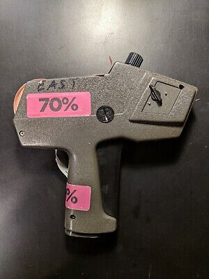 Monarch Paxar 1110 Pricing Gun Usa-made Tested Working Includes Jcpenny Labels