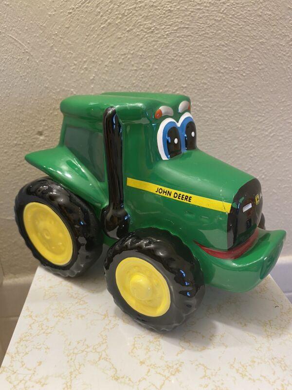 Ceramic John Deere Tractor Collictbke Bank 1999