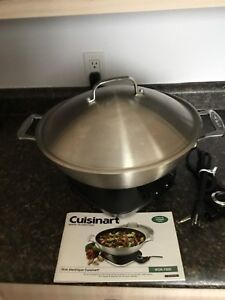 Cuisinart Electric Wok for Sale,  Never Used