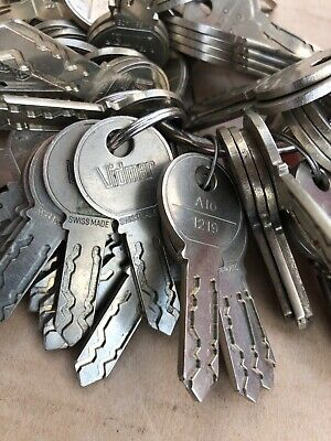 Stanley Vidmar Cabinet Key Sl-10 Series 1219 - Various Numbers - Replacement