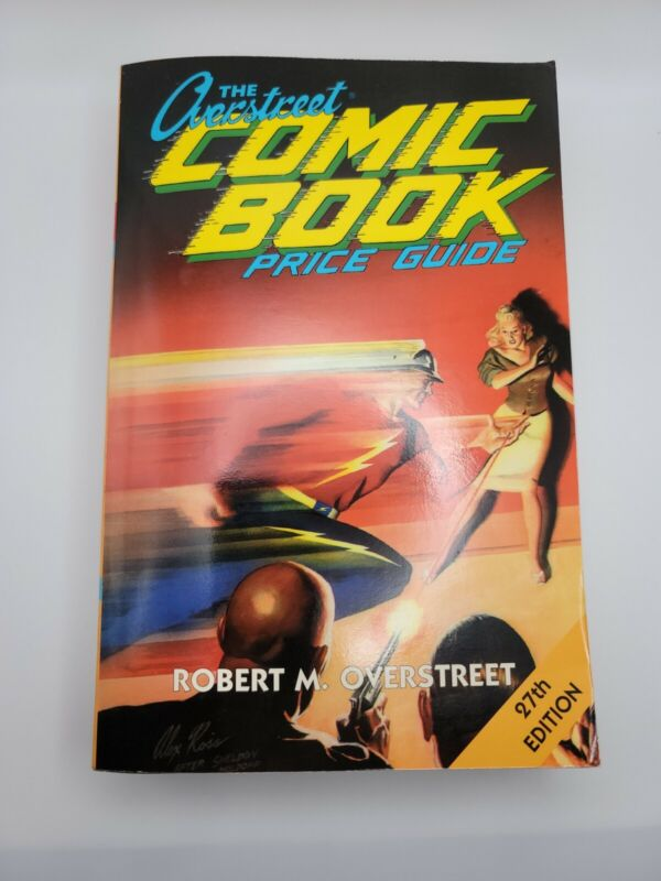 Vintage 1997 The Overstreet Comic Book Price Guide 27th Edition SoftCover