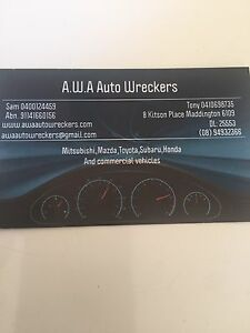 AWA Auto Wreckers for Sales Maddington Gosnells Area Preview