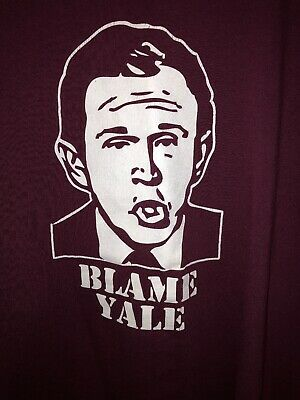 """The Game"" Harvard Crimson Vs Yale Bulldogs Student T Shirt Med Anti Trump Bush Anti Bush Tee Shirts"