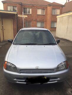 Toyota starlet 1996 / Rezo 6 months