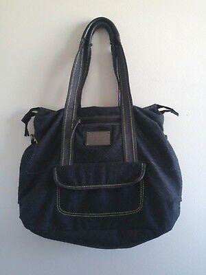 5c5469501ac Lululemon Wool Tote Black Gray Green Big Gym Yoga Laptop Shoulder Bag  Vintage