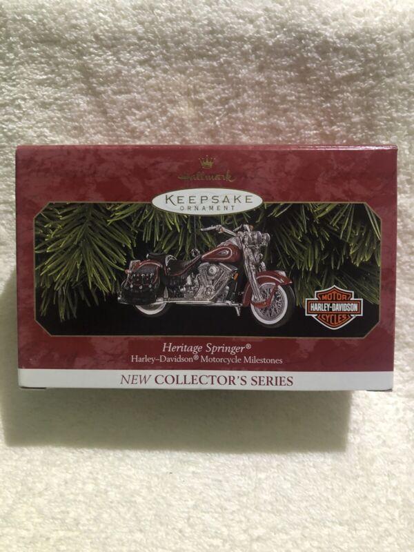 1999 Hallmark Harley Davidson Heritage Springer Ornament #1 in series