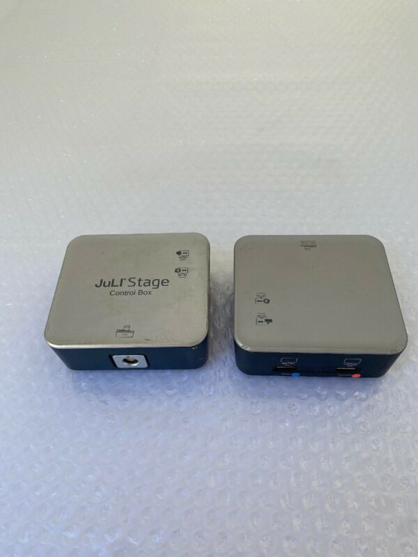 Lot of (2) NanoEnTek JuLI Stage Control box