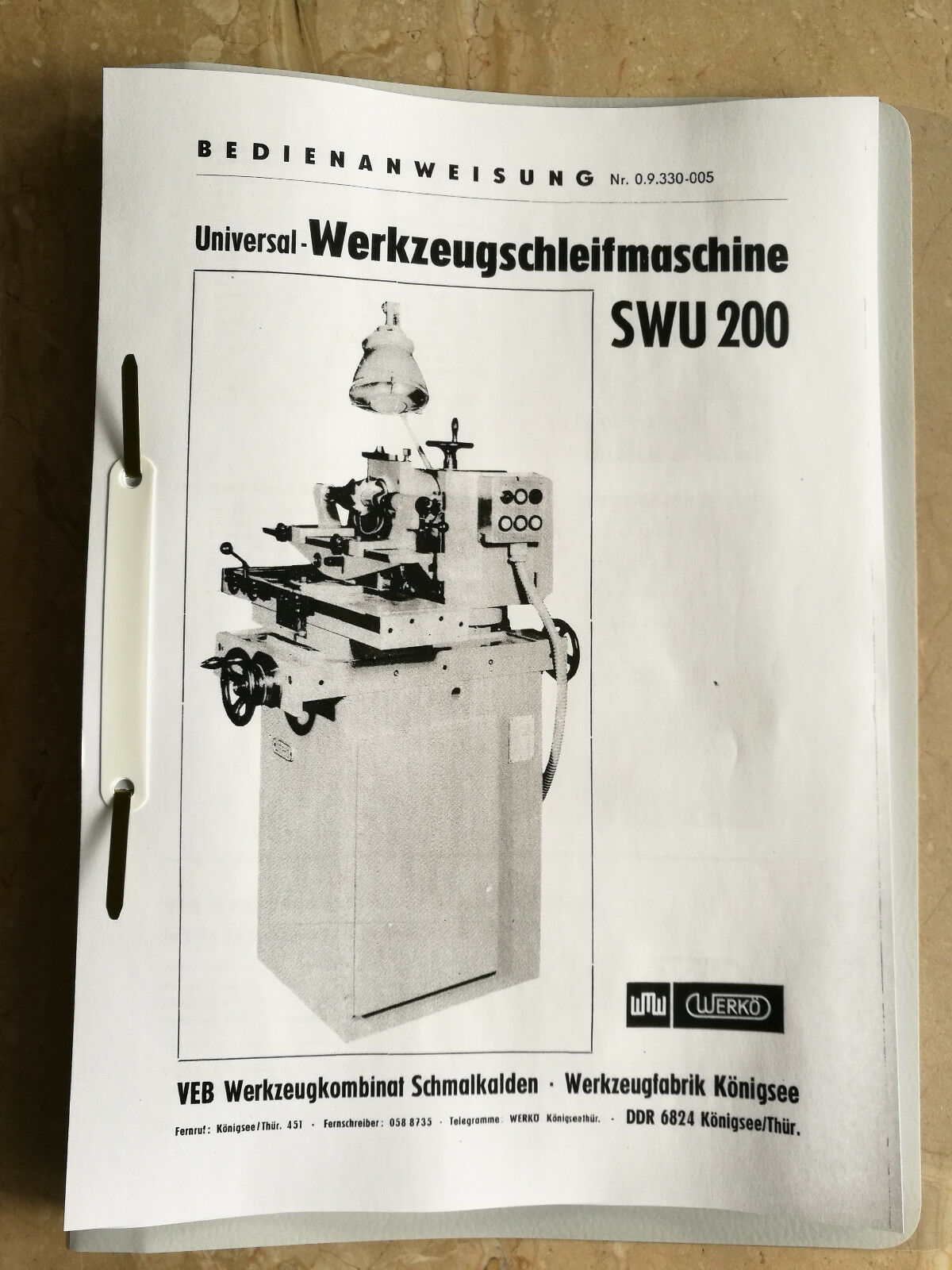Tischbohrmaschine WMW Heckert BT 2